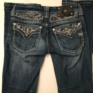 Miss Me Bandana Boot Cut Jeans